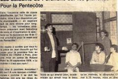 le Dauphiné libéré  1986
