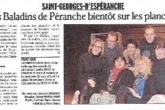 le Dauphiné libéré  février 2013