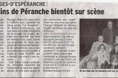 le Dauphiné libéré février 2014
