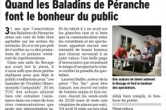 le Dauphiné libéré mars 2015